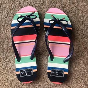 Kate Spade flip flops, Size 9-10